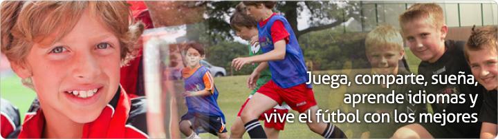 Juega y aprende idiomas y vive el fútbol con los mejores